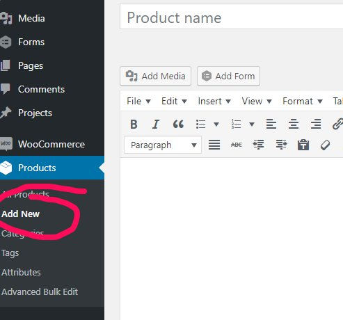 How to set up products (in your WooCommerce store)
